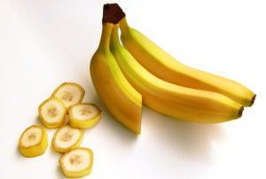 Bananas have a lot of potassium