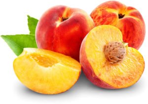Peaches have a lot of vitamin C