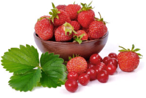 Strawberries have many beneficial minerals